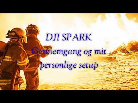 DJI SPARK MIT SETUP *DANSK*