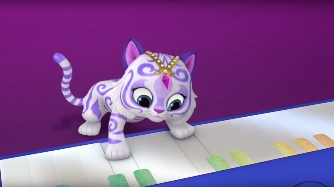 shimmer and shine untamed talent nick junior baby animation