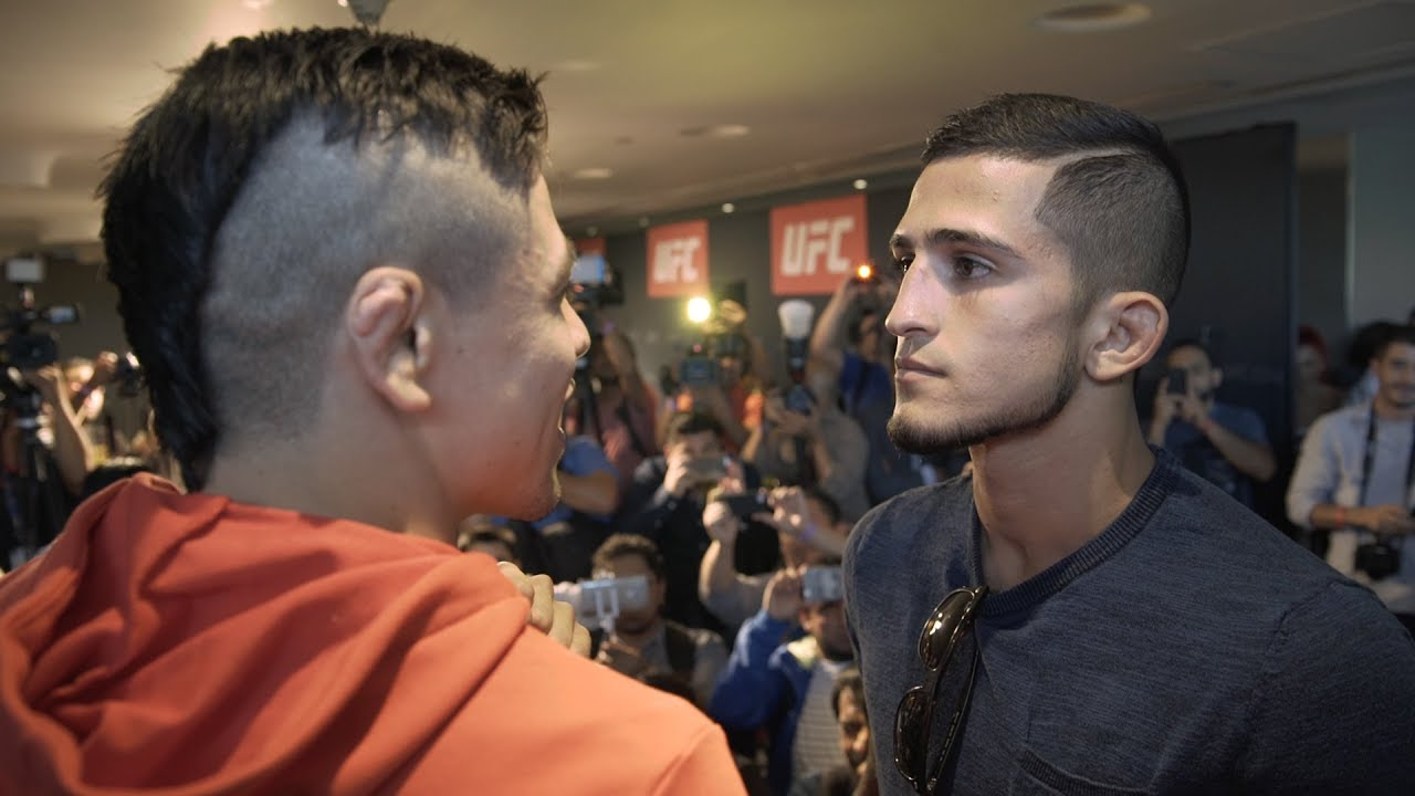 Fight Night Mexico City: Media Day Faceoffs and Weigh In Results