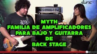 Familia de Amplificadores para Bajo y Guitarra Myt