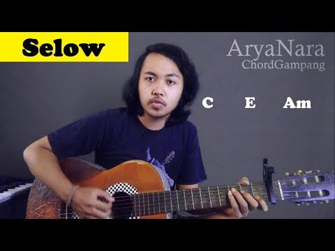 Chord Gampang (SELOW - WAHYU) By Arya Nara (Tutorial Gitar) Untuk Pemula