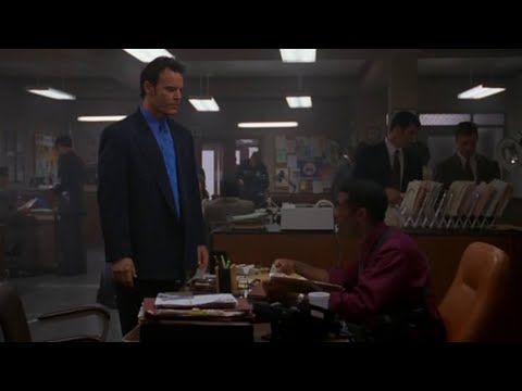 Wishmaster (1997) | Police station shootout
