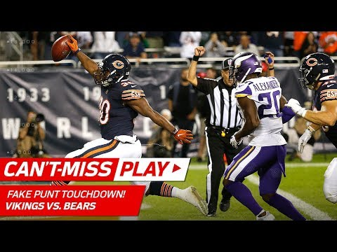 Bears Pull Off Amazing Fake Punt TD!   🚨Trick Play Alert🚨   NFL Wk 5 Highlights