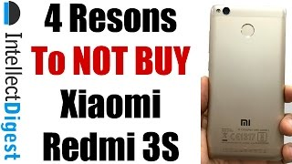 Xiaomi Redmi 3S Review With 4 Reasons To Not Buy Redmi 3S   Intellect Digest