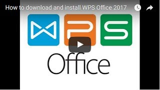 Gambar cover How to download and install WPS Office 2017