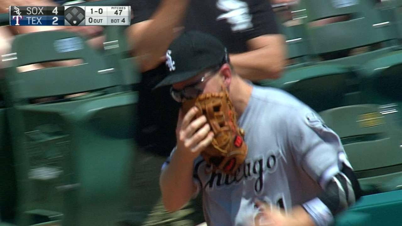 Todd Frazier Foul Ball Strikes Young Fan at Yankee Stadium