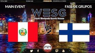 PERU vs FINLANDIA - 2 - WESG 2018 - Viciuslab