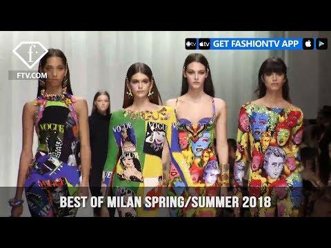 Karlie Kloss, Izabel Goulart, and More  at the Best Of Milan Spring/Summer 2018 | FashionTV | FTV