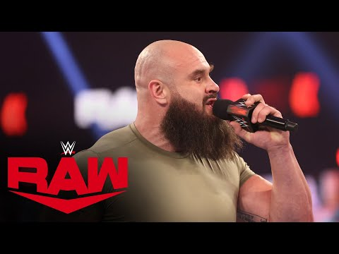 Braun Strowman demands a WWE Championship Match: Raw, Feb. 22, 2021