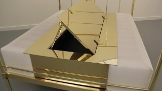 Goldsteen Metal Manufacturing & Design Producing A Brass Four Poster Bed For Filip Gilissen.