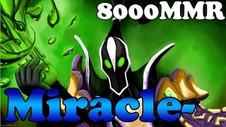 dota 2 miracle 8000mmr plays rubick vol 6 ranked match gameplay