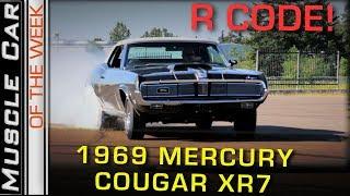 1969 Mercury Cougar XR7 428 CJ Convertible: Muscle Car Of The Week Episode 267