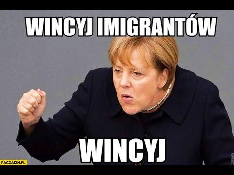 """Marine Le Pen MIAŻDŻY Merkel: """"Ja Pani nie uznaję!"""""""