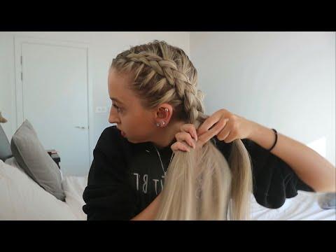 How To Do Dutch Braids!