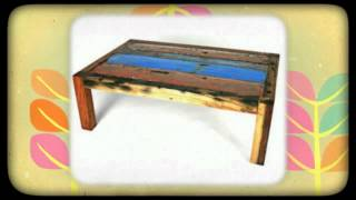 Ecologica Furniture - Reclaimed Wood Tables