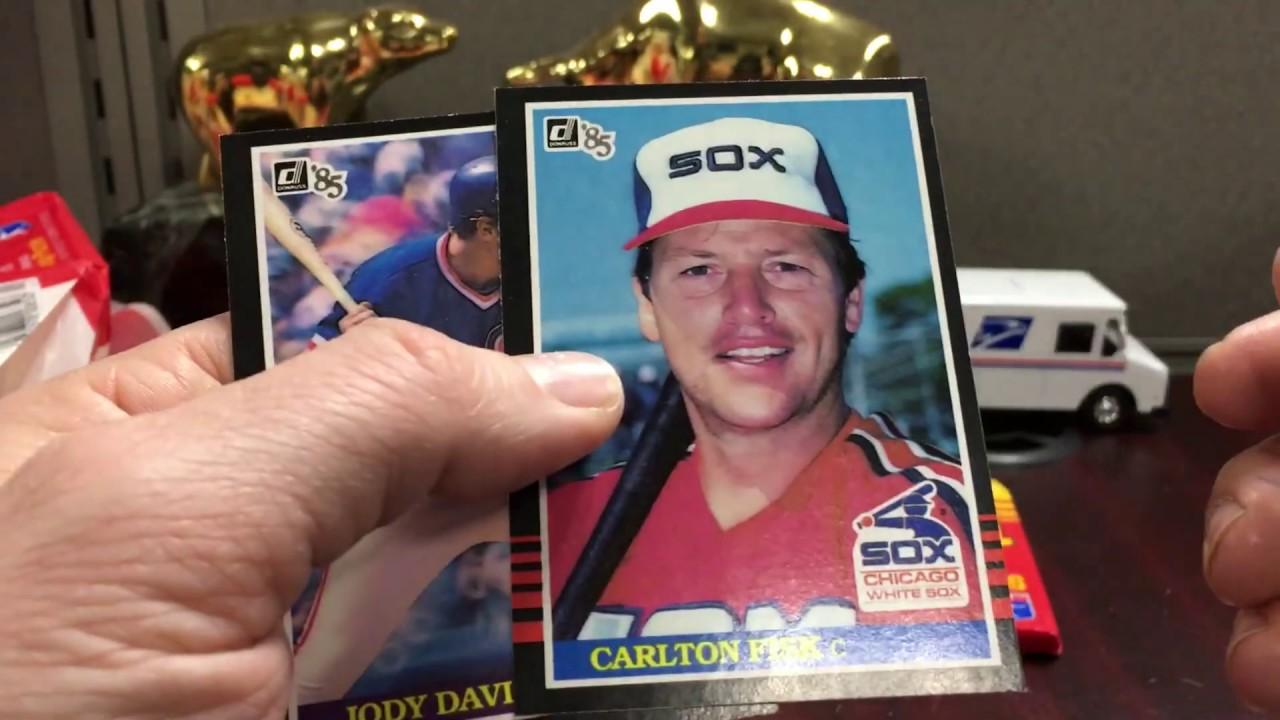1985 Donruss Mlb Baseball Box Break