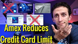 NEW RESTRICTIONS For American Express Credit Cards