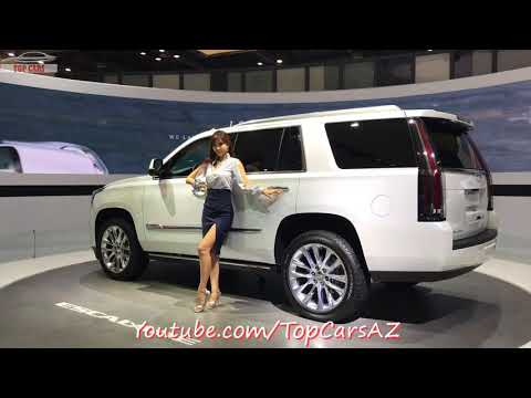 [Top Cars]: 2018 Cadillac Escalade First Look - Seoul Motor Show 2017