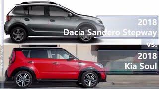 2018 Dacia Sandero Stepway vs 2018 Kia Soul (technical comparison)