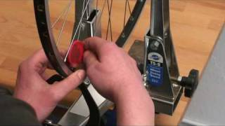 Fahrradtechnik - Einspeichen