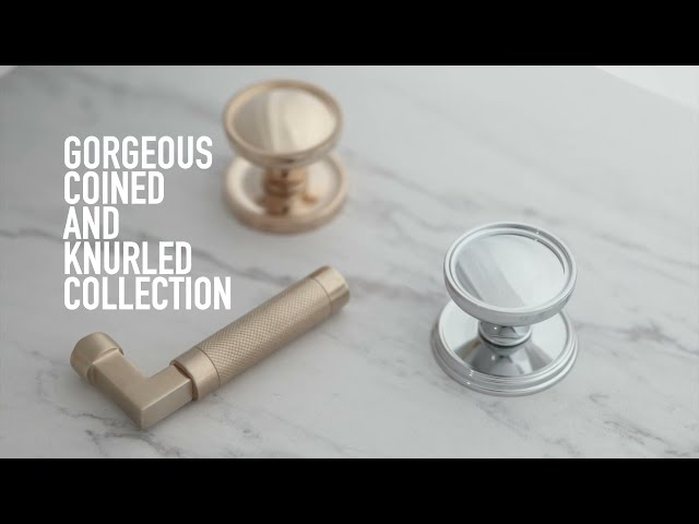 Coined and Knurled Collection