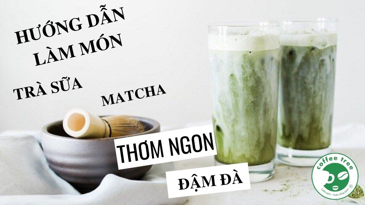 Hướng Dẫn Cách Làm Trà Sữa MatCha Thơm Ngon Bổ Dưỡng | Coffee Tree Official