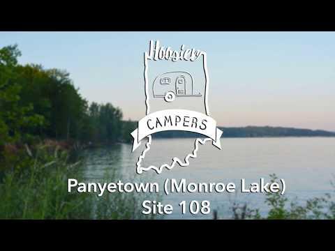 Monroe Lake site #108