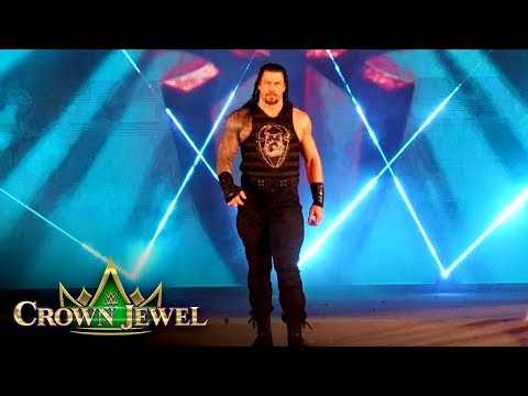 Roman Reigns' Entrance Lights Up The Sky: WWE Crown Jewel 2019 (WWE Network Exclusive)