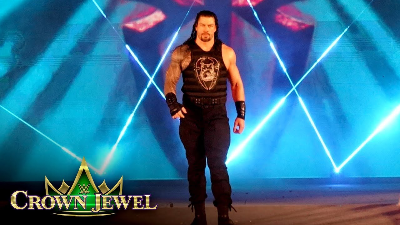 Download Roman Reigns' entrance lights up the sky: WWE Crown Jewel 2019 (WWE Network Exclusive)