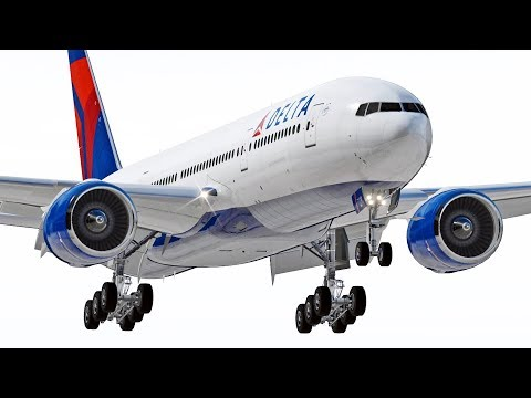 Boeing 777 To Detroit | X-Plane 11