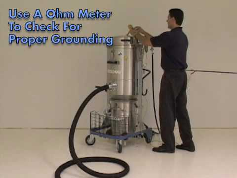 Explosion Proof Air Powered Vacuum - Goodway
