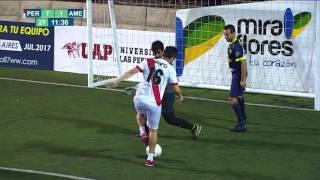 Los goles de Falcao en el Fútbol 7 - CMD
