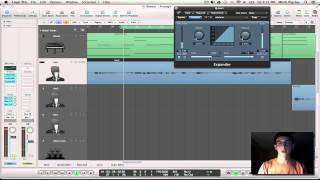 Logic Pro 9 Tutorial - Noise Floor Reduction with Expander