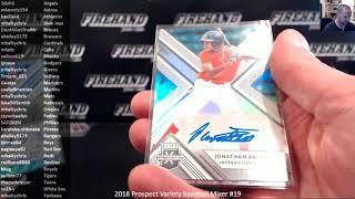 International Auto Random ~ 2018 Prospect Variety Baseball Mixer #19