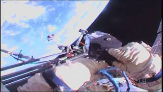 Space Station Cosmonauts take a Walk in Space thumbnail