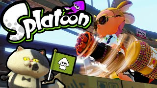 Splatoon Wii U Gameplay LIVE! Hydra Splatling Squad Splat Zones & Rainmaker 2.3 Stream Online HD