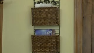 How To Hang A Magazine Rack For The Home : Home Design Ideas