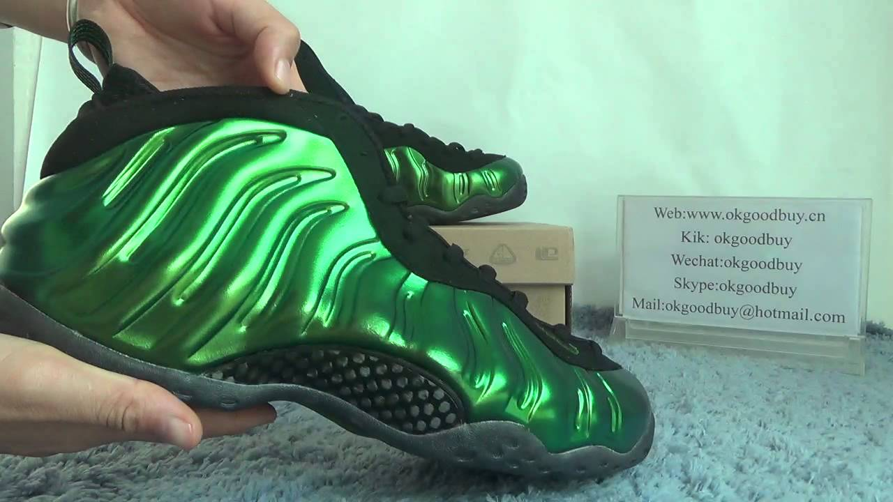 16512896ffa07 Okgoodbuy reviews Authentic Nike Air Foamposite One Metallic Green ...