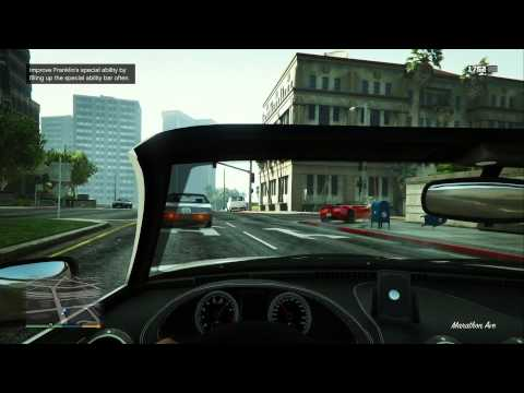 GTA V (XOne) - First 20 Minutes - First Person