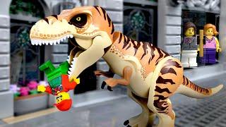 LEGO Мультики про Динозавров | ЛЕГО Мир Юрского Периода - 15