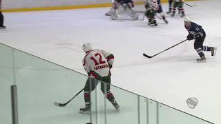 Терентьев (Ветераны Ак Барс), с передачи Балмина и Терентьева, забивает 1:3
