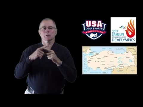 USADSF and 2017 Deaflympics in Samsun, TURKEY