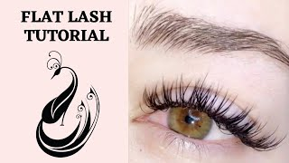 Flat EyeLash Extensions Tutorial | Classic Matte Look Using Yegi Flat Lashes