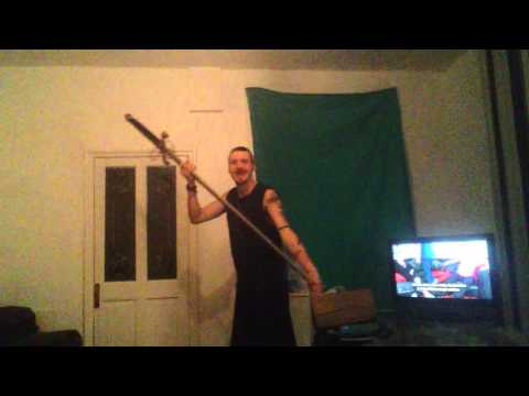 William Wallace sword stolen from stirling Scotland 2015 (Prank)