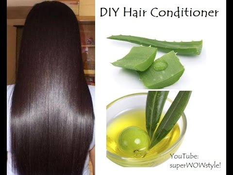 diy homemade hair conditioner aloe vera argan oil for dry hair