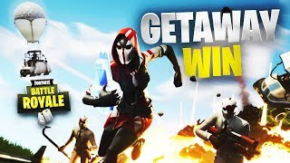 Getaway LTM Win | Fortnite | No Commentary