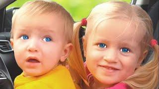 Estamos en la Canción del Coche + otras Canciones infantiles con Katya y Dima