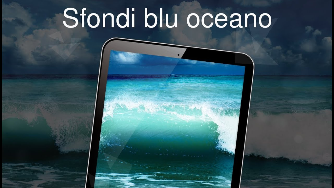 Sfondi Blu Oceano 4k Youtube