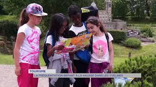 Tourisme : la fréquentation repart à la hausse dans les Yvelines