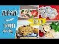 11 tipov na zdravé snacky a jedlá na dovolenky a cestovanie